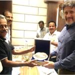 Image for the Tweet beginning: Director General, Dr EN Rajagopal