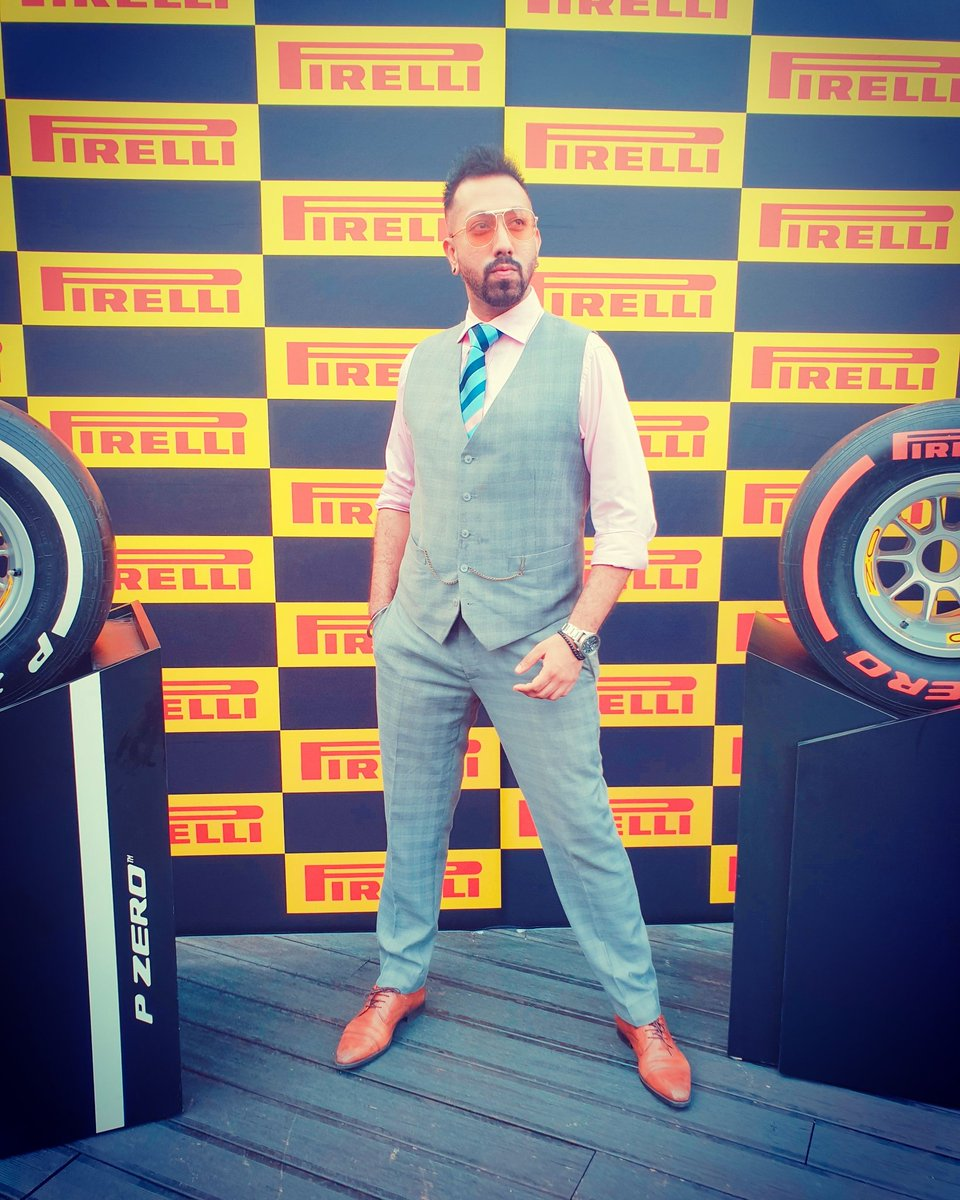 Hosted the Singapore Grand Prix - Pirelli Night 2019! . . . #NaturalBornThriller #F1 #Pirelli #Singapore #GrandPrix #Party #Actor #Emcee #Entertainer