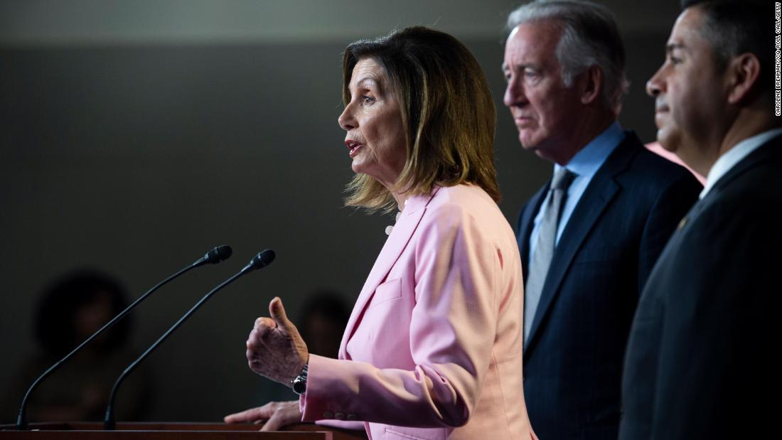 """Nancy Pelosi: US arms sales and troop deployments to Saudi Arabia and UAE """"outrageous""""  https:// cnn.it/2AG469c    <br>http://pic.twitter.com/jvlFnLGxdV"""