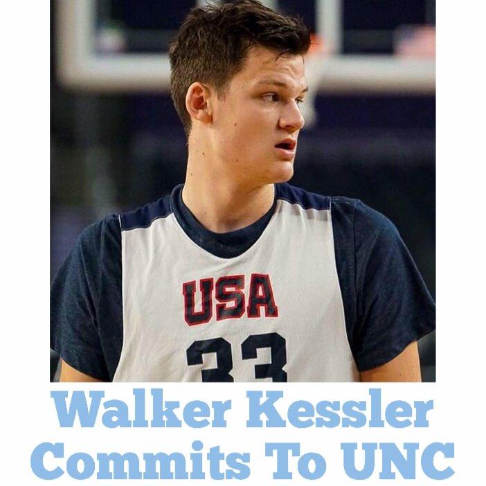 2020 five-star Walker Kessler has committed to UNC <br>http://pic.twitter.com/u82VRo4WEG