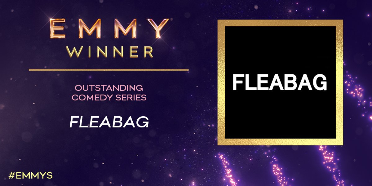 Add another #Emmy to the count as @Fleabag wins for Outstanding Comedy Series! #Emmys<br>http://pic.twitter.com/S3eeQmqFtN