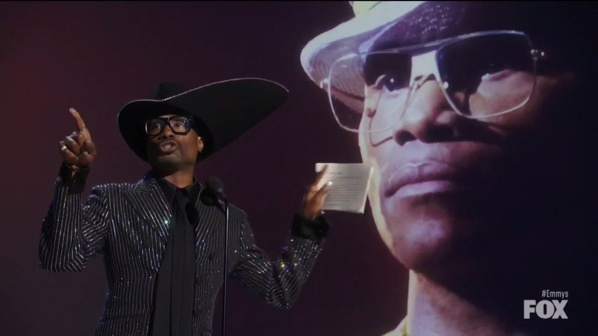Emmys: #Pose star Billy Porter makes history with best drama actor win  http:// thr.cm/8j5AqP    <br>http://pic.twitter.com/wWDqddaIJ0