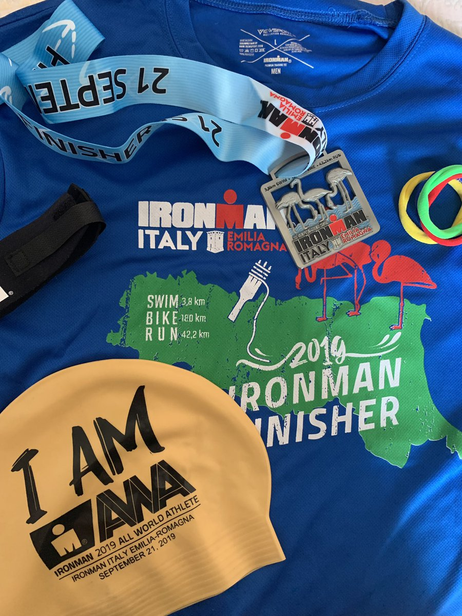 #MedalMonday Let go !!!@IRONMANtri #ironmanitaly
