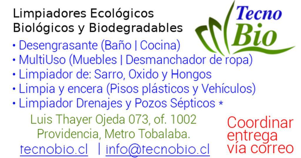 Hola. ¿Estás buscando limpiadores #ecológicos y #biodegradables? Que no afecten tu #salud y de tu #familia!!! Coordina tu retiro en el corazón de #Santiago. #MMA