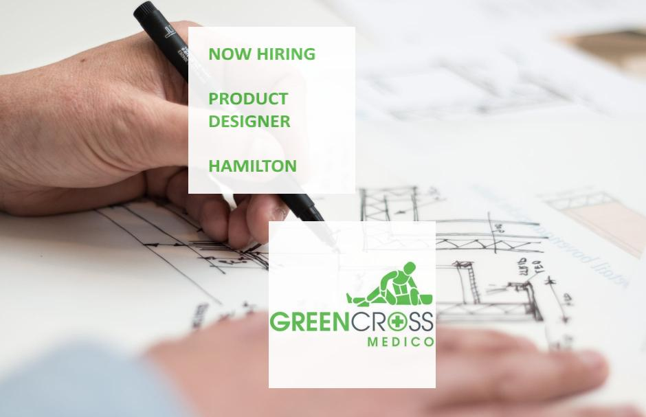 New #ProductDesign Opportunity in #Hamilton. Green Cross Medico is looking for a hands-on individual to produce designs from early initial concepts, through to Industrial Design research, to sketching through to a fully engineered product solution. Apply - http://bit.ly/2M5LJ34