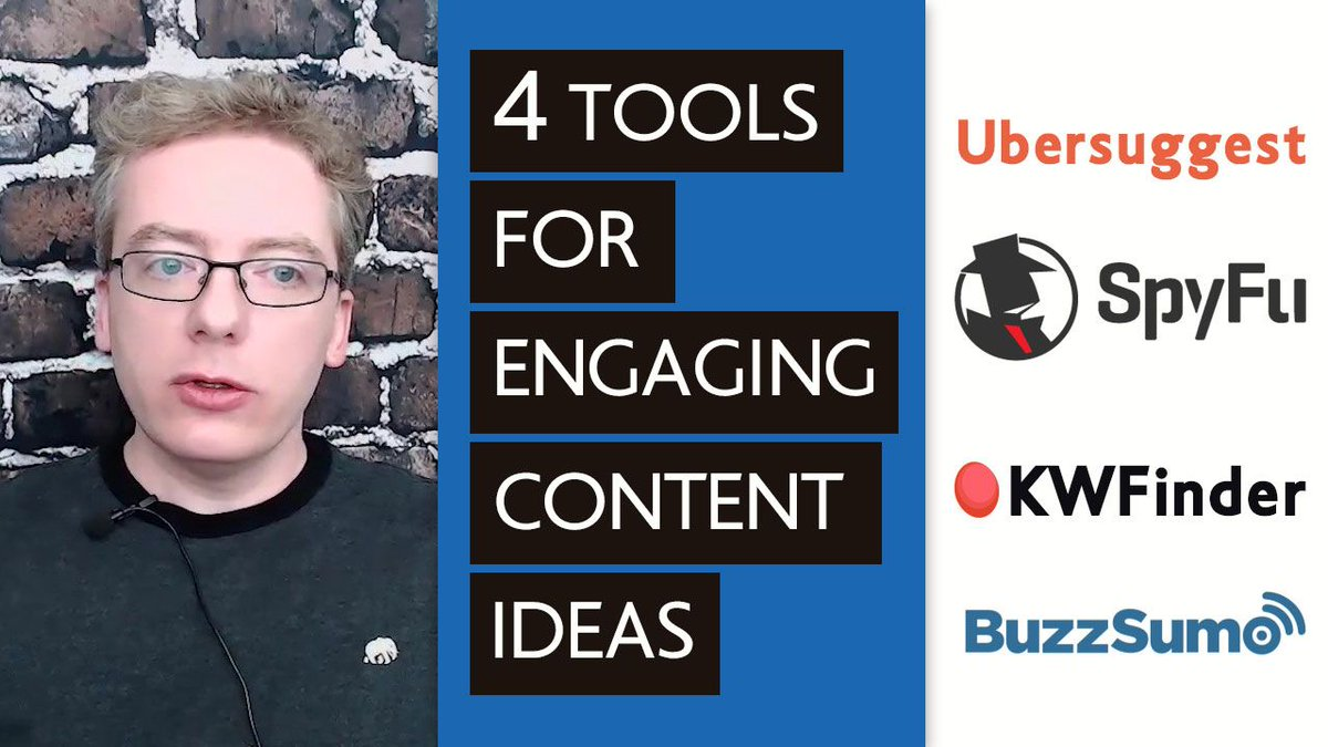 To succeed with #videocontentmarketing, you need to be posting a lot of content out there.   The question is: How can I come up with so many content ideas?   These 4 tools will help you create 100, 200 topics via @BoardStudios.   https://buff.ly/2Ndajlk