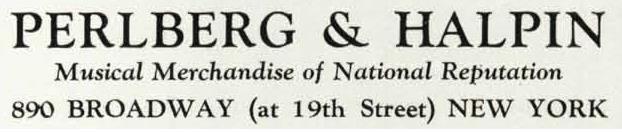 Perlberg halpin Logo