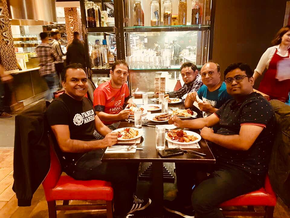 Good Food Good People Good times   Thank you #Kamrul for tagging us on this lovely image from your visit to our venue  . . . . . #Mondaythoughts #goodfood #goodtimes #friends #family #Jimmys #TheO2 #restaurants #london #homemadefood #unlimited #food #fun #foodies