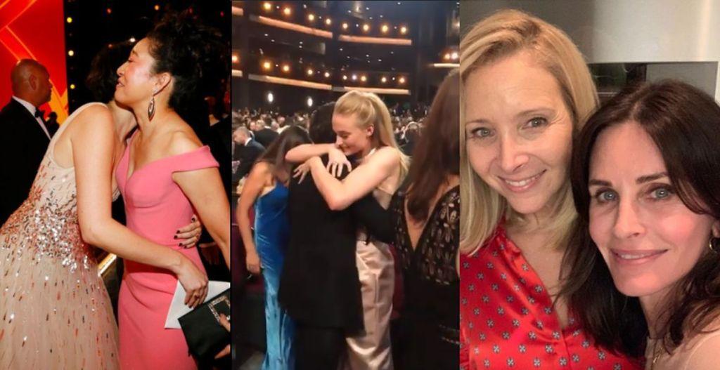 Tante reunion agli #Emmy2019, dal #TronodiSpade e #KillingEve a #MadMan. E #Friends? (Foto e video) https://www.optimagazine.com/2019/09/23/tante-reunion-agli-emmy-2019-dal-trono-di-spade-e-killing-eve-a-mad-man-e-friends-foto-e-video/1582191…
