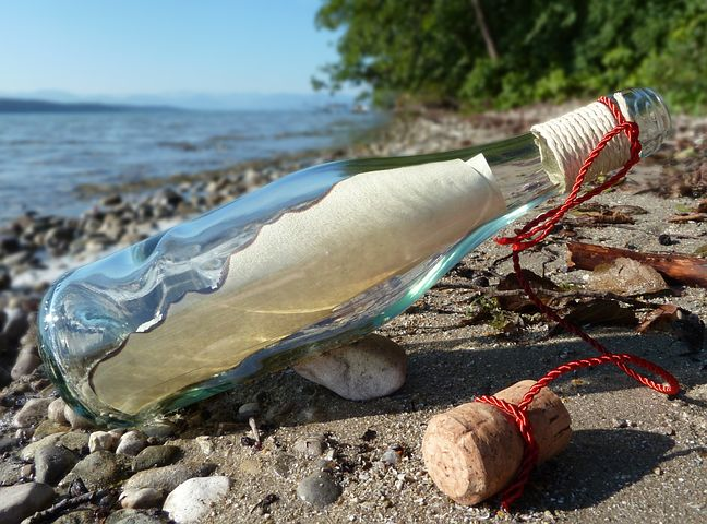 Do #MessagesInBottles ever get read?  In May 2005, a message for help stuffed in a bottle saved 88 South American migrants stranded at sea near Costa Rica. The coast guards read the plea for help and saved the people.