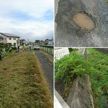 台風19号が過ぎましたが、佐賀市は23,000戸が停電し、鳥栖市においては、強風により街路樹が折れたり標識が倒れたり被害が出ました。そんな中、真木町は用水路沿いの草刈り作業。そして、折れているお宮の木々を片付け。ものすごい量でした。皆様、大変お疲れ様でした!<br /><br /> ありがとうございました❗
