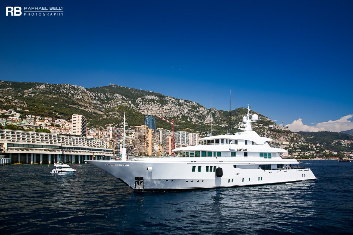Pretty photo by Raphael Belly of the @ICONYachts #yacht Party Girl in #Monaco.  She is owned by Charles West  West is the founder of  Pet Supermarket, the largest specialty retailer of #petfood and pet-related supplies based in the southeastern #US.  https://www.superyachtfan.com/yacht_party_girl.html… .