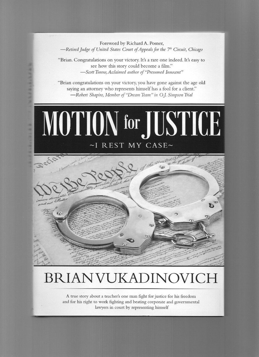"@BNStateElm My book ""Motion for Justice: I Rest My Case"" would be a great addition on your book shelf.  I just did a book signing in El Paso, TX to support the #ElPasoStrong campaign.  I could do a book signing in your fine store if you are interested."