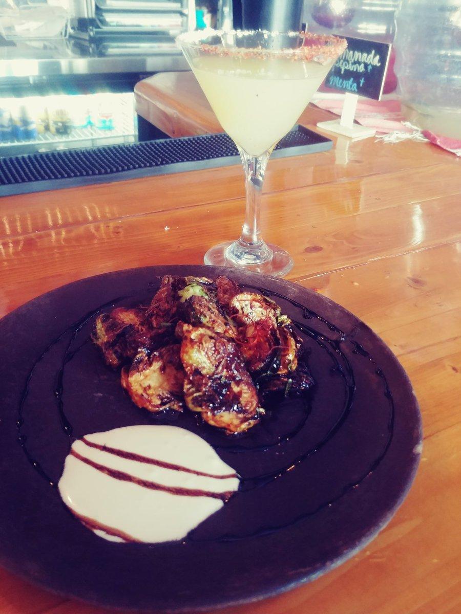 Yuummyy brussel sprouts 🙌😍 #eat #food #localrestaurants #eatlocal