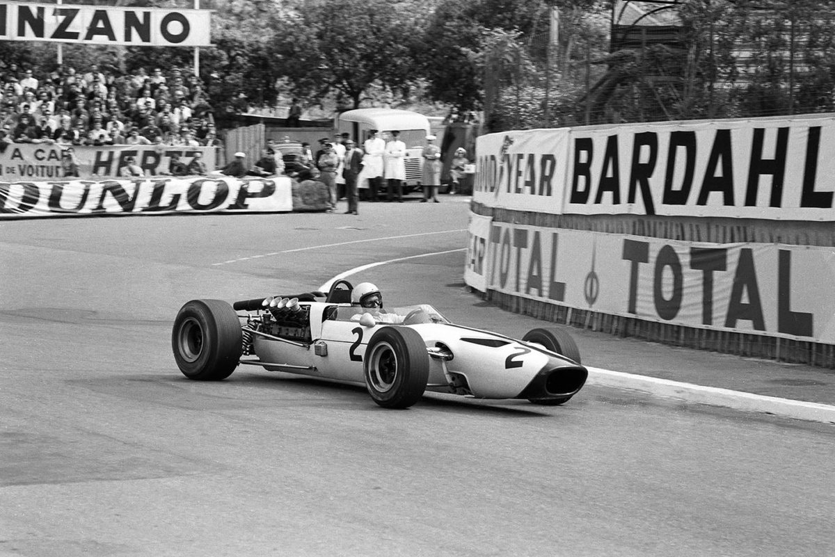 . bruce mclaren #Monaco 1966 #F1   🏍️🏎️ Bruce Leslie #McLaren (NZ) (Bruce #McLaren Motor Racing), #McLaren M2B - #Ford 406 3.0 V8 (RET)1966 Monaco Grand Prix, Circuit de Monaco ++ #McLaren Racing Ltd.   📷🎥  🏁https://lastflag.com/nuvolari/bruce-mclaren-monaco-1966-f1/…🏁