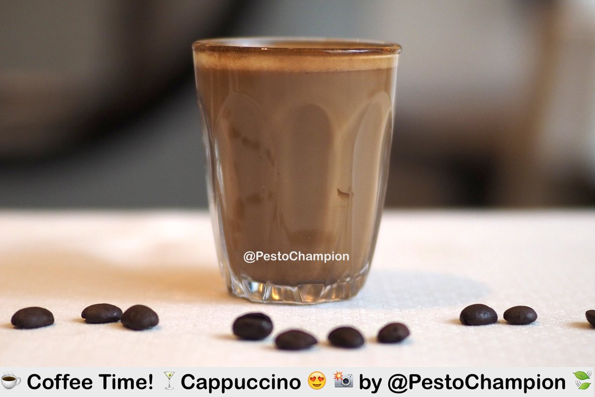 #TuesdayThoughts - Who's for a latte this morning? :) .  Happy Coffee Day from #Pestochampion . Click link to see more! ▶  https://twitter.com/PestoChampion/status/1106935519970316288…