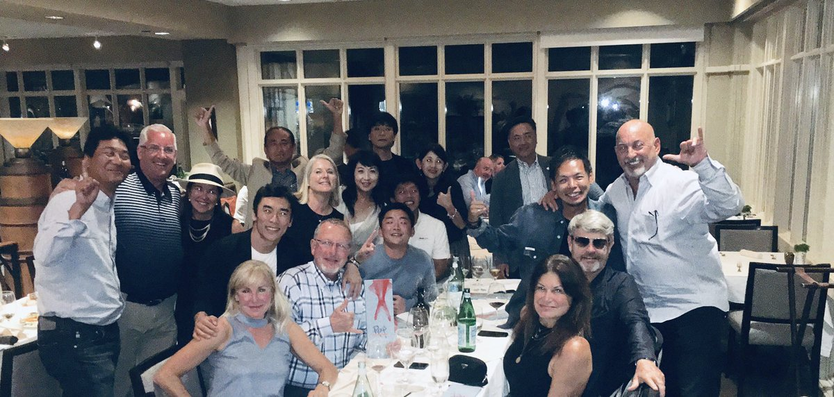 Thanks for a fun end-of-season dinner @ABeamUSA. And thanks for your support this season. We're looking forward to building on the two wins, two poles and two more podiums from this season in 2020. 🇯🇵 @TakumaSatoRacer