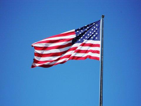 Waving proudly #AmericaFirst