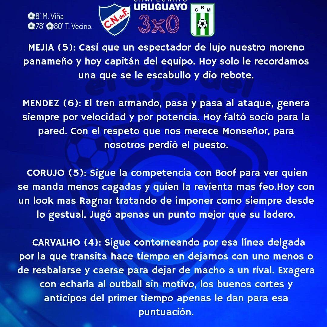 #UnoxUno #Nacional 3-0 #Racing #Clausura2019 / Fecha 3 #campeonatouruguayo