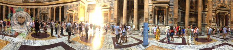On the #move #Spectacular natural #light inside inspiring #Pantheon in Rome, Italy. #BrandNew on #YouTube: https://rebrand.ly/Travel-to-Rome #Landmarks #Monuments #Basilica #TuesdayThoughts #MohammedAli #CityLife #TravelGuide https://booki.ng/2sUjRpI