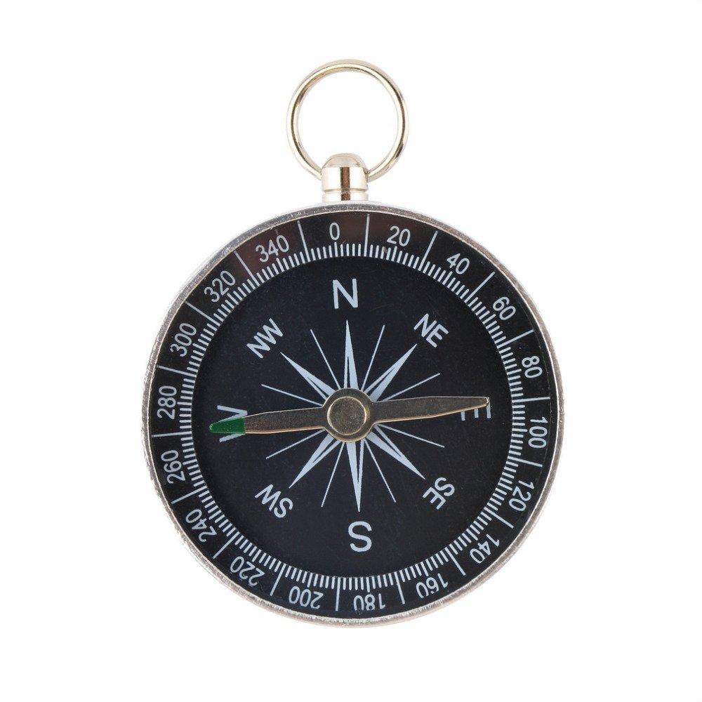 #cool #cute Lightweight Aluminum Pocket Compass