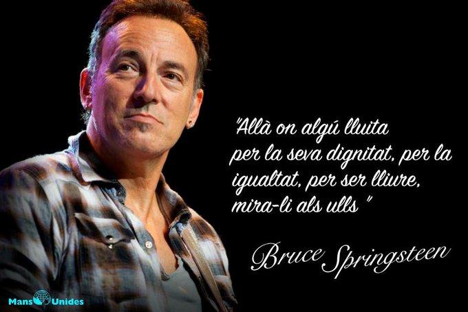 Avui, 70é. aniversari d\en Bruce Springsteen, The BOSS. Un dels grans. Happy Birthday