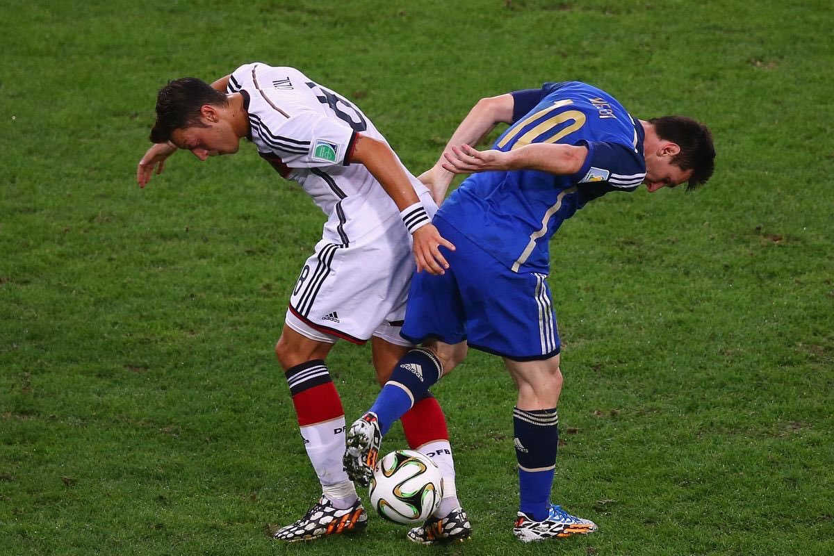 """Lionel Messi (2014 World Cup): """"Özil is Germany's undisputed star. He's top class and incredibly creative."""""""