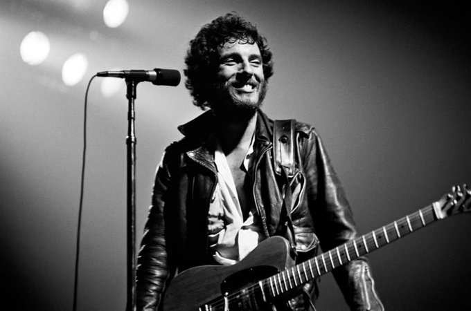 Happy 70th birthday to the one and only Bruce Springsteen. Best wishes boss!
