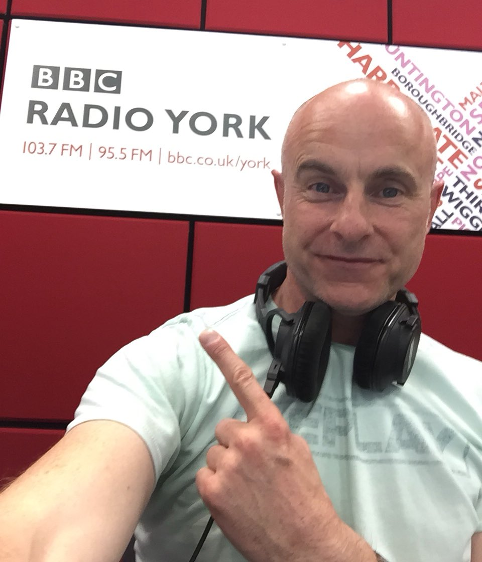 """Dom Busby on Twitter: """"Back here this morning for a week of Mid Morning in  @BBCYork and hearing how you feel about the demise of #ThomasCook plus the  latest from #Yorkshire2019 #Radio #"""