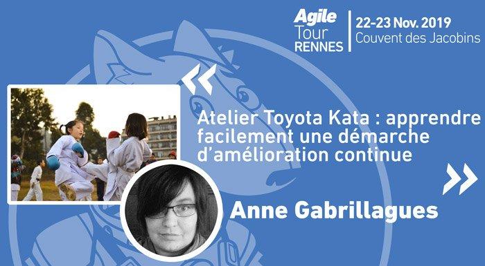 Vous voulez en savoir plus sur le programme #atrennes19 ? Anne Gabriallagues @agabrillagues nous proposera de nous former à l'amélioration continue via les Toyota Kata ! Et les enfants seront les bienvenus pour cet atelier.