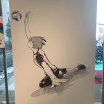 秋葉原にて有名漫画家によるパラリンピックのイラストが展示中!!