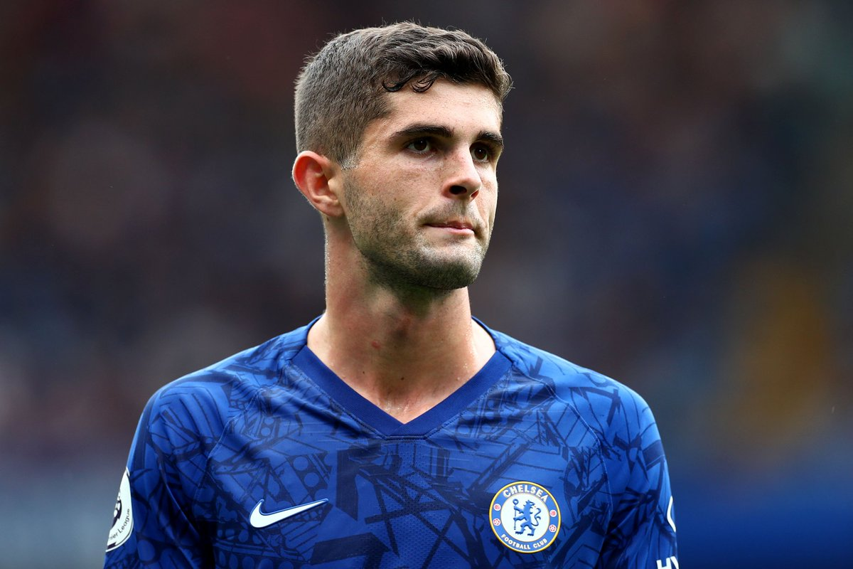 There is just no reason why Christian Pulisic should not start for this side. Willian and Pedro are not offering anything to our attack that Pulisic won't. Has to, absolutely has to be given a run of starts to show his worth.  #CFC