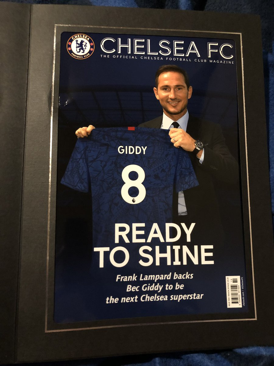 Yes I'm definitely the type of person who would get this kind of thing 😉💙 #CFC #SuperFrank