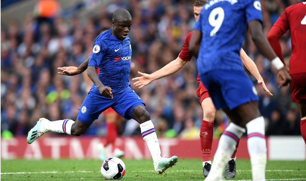 """N'golo Kante on Liverpool defeat: """"We tried our best during the game and we are disappointed by the result. With the two set-pieces they scored they put us in difficulty but had some good chances. #CFC"""