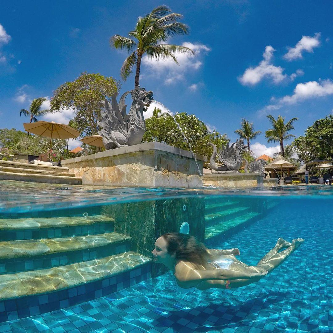 Ayana Hotels On Twitter Live In The Water Under The Blue