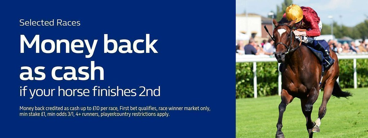 * Ad * Money back as cash if your horse finishes 2nd in any race at #Hamilton today! (Min odds 3/1)  https://mb.tips/WilliamHill30
