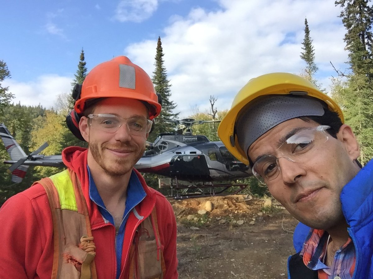 test Twitter Media - Research continues in Marathon, Canada by @DIAS_Dublin for the #PACIFICproject after a 3.5 hour drive in thick fog followed by a helicopter ride to the remote site location! #DIASdiscovers  https://t.co/rNU5hOdsOf https://t.co/QHHl9xp4BI