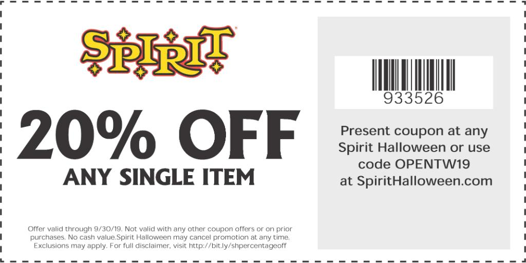 picture relating to Spirit Halloween Coupon Printable identified as Spirit Halloween (@SpiritHalloween) Twitter