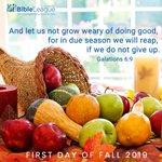 Image for the Tweet beginning: Happy First Day of Fall!