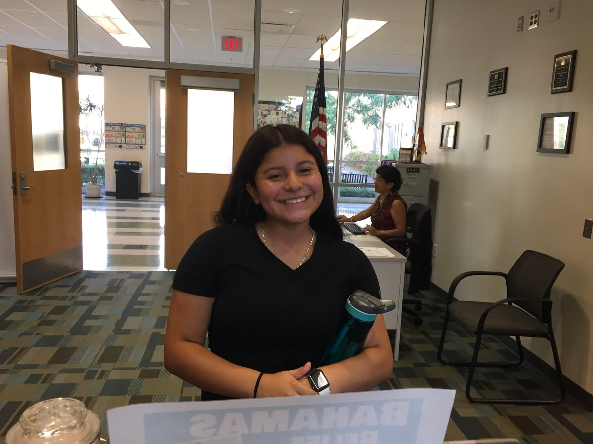 Dalila and her cheerful self did an amazing job with announcements this morning! ☀️ <a target='_blank' href='http://search.twitter.com/search?q=APSisAwesome'><a target='_blank' href='https://twitter.com/hashtag/APSisAwesome?src=hash'>#APSisAwesome</a></a> <a target='_blank' href='http://twitter.com/wakefieldchief'>@wakefieldchief</a> <a target='_blank' href='http://twitter.com/WakeCounselors'>@WakeCounselors</a> <a target='_blank' href='https://t.co/50LgBRjn47'>https://t.co/50LgBRjn47</a>