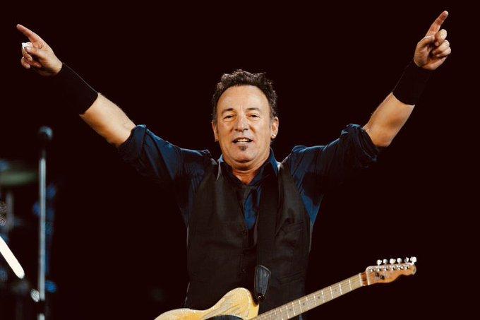 Happy Birthday Bruce Springsteen, 70 today ..
