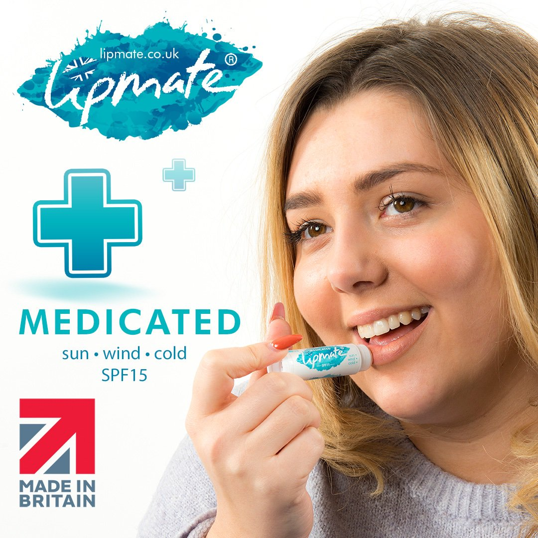 With the cooling effect of #Menthol  and soothing effect from #Eucalyptus  oil, our Medicated #lipbalm  is a great fix for sore or dry cracking lips.   Try it today, order direct with free delivery at  https://www.lipmate.co.uk/buy-lipbalm-direct/  …  #Lipcare  #CrackedLips  #DryLips  #Health  #Beauty  #Holiday