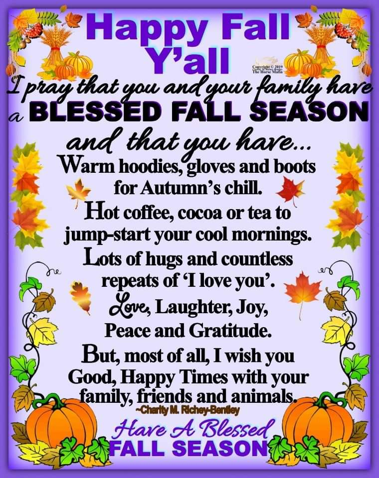 Happy Monday!! Happy Fall Y'all 🍂🍃🍁☕ #HappyFall #happyAutumn #coffeetime #teatime #thankful #blessed #coolerweather #thankful #blessed #livelifetothefullest
