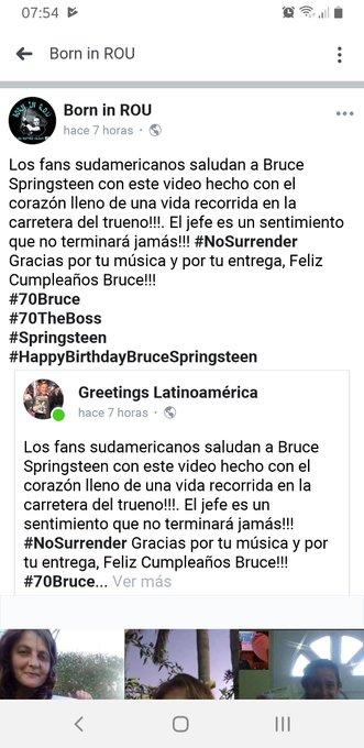 Feliz cumple Bruce !! Happy Birthday Bruce !!