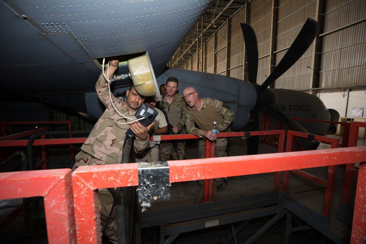 العراق يقوم بتأهيل طائرات C-130 بأمكانيات محليه  EFJNwOIW4AIKB9Z