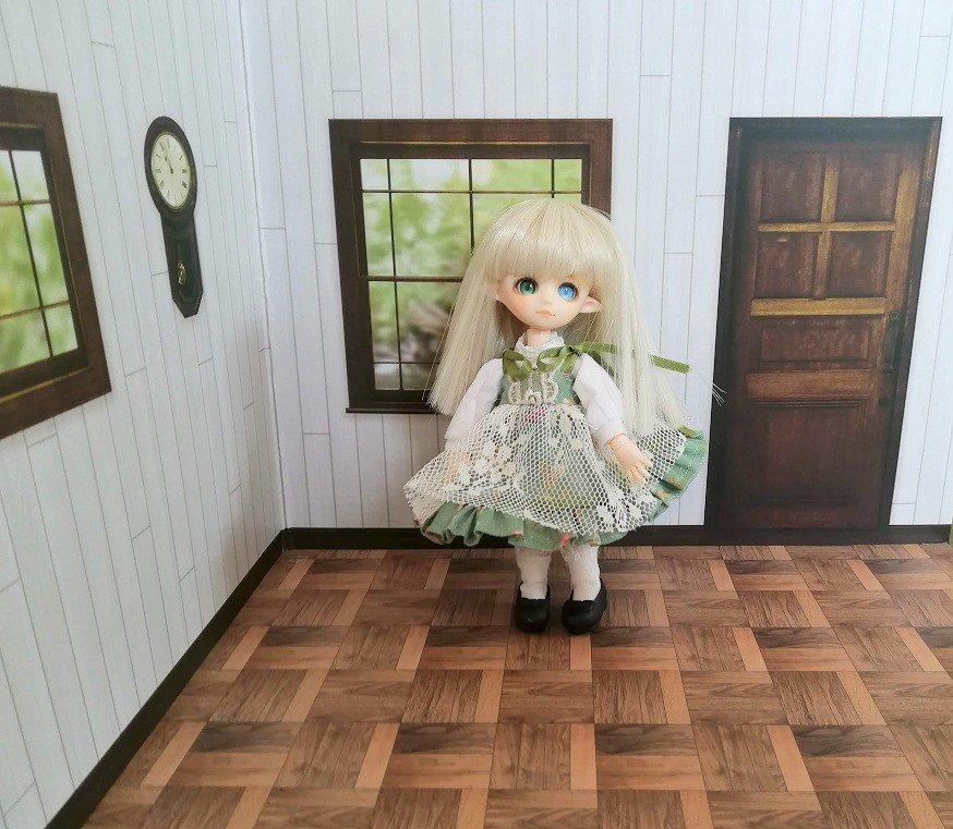 test ツイッターメディア - ちょっと前にキャンドゥに行ったとき、背景ボードというのが売っていました。 オビツ11にちょうどいい大きさです。 床もついて100円だしすごいなぁ。 家具とか配置して撮影したい。  #オビツ11  #キャンドゥ #人形 #背景ボード #ドール  #ドールオーナーさんと繋がりたい  #ドール写真 https://t.co/AG2msOGL0Z