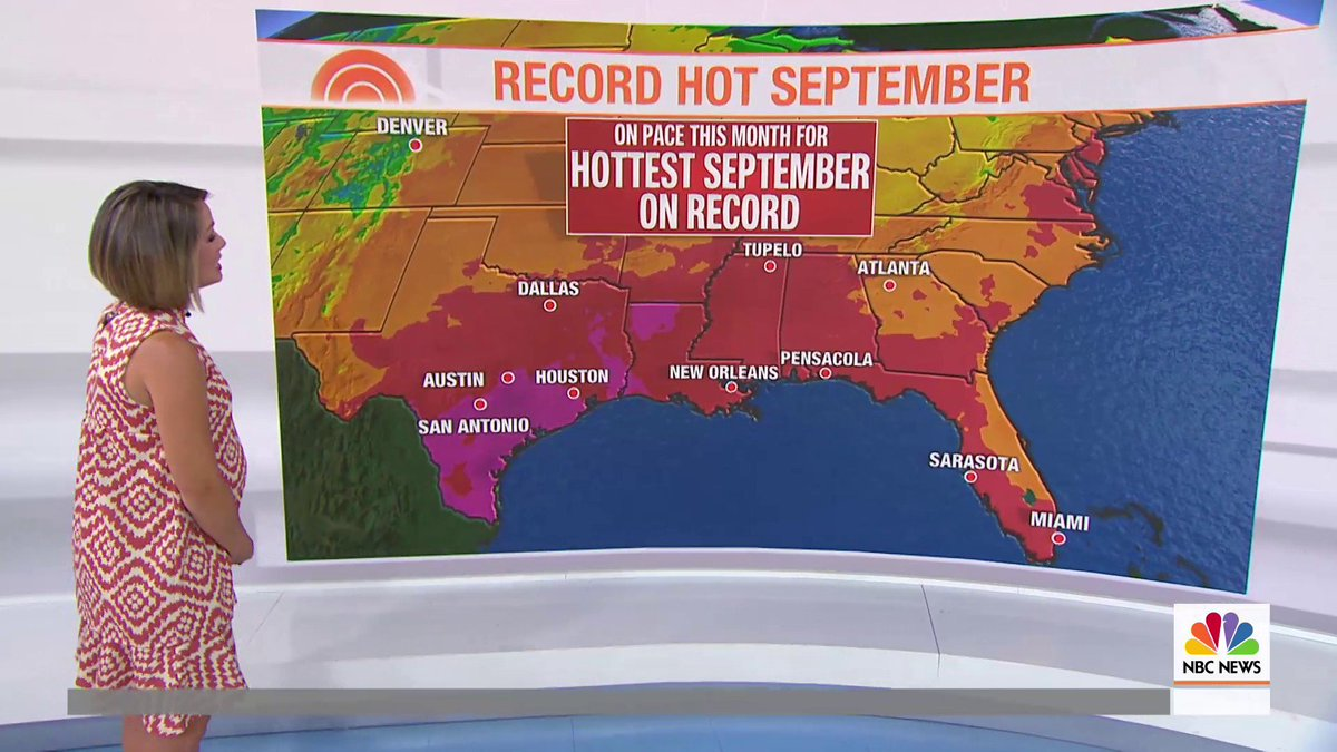 .@Dylandreyernbc has the forecast for the first day of fall.