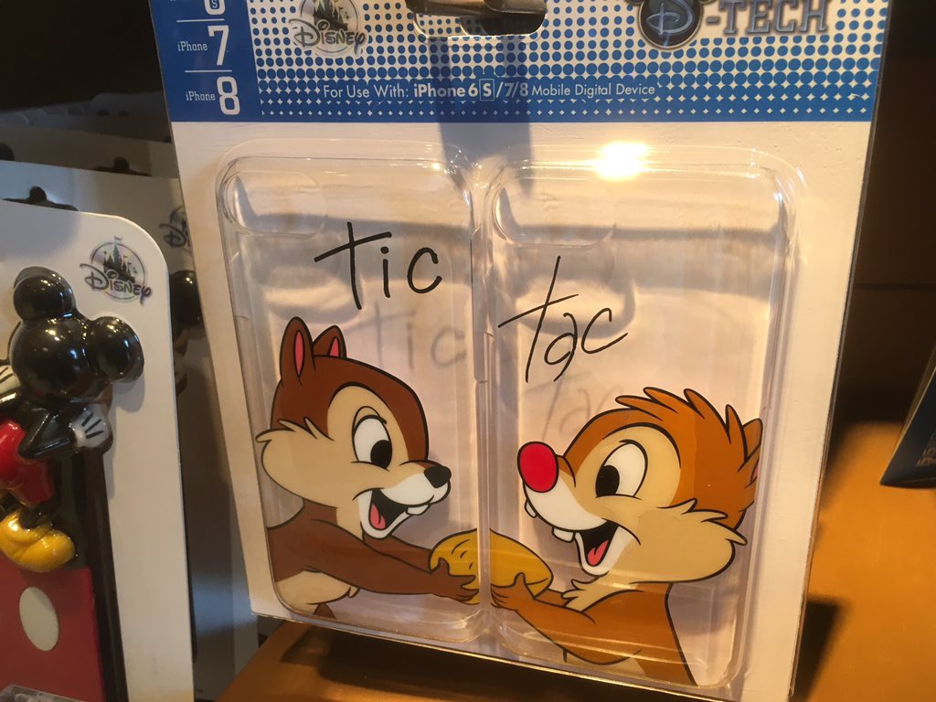 Laughingplace Com On Twitter These Matching Phone Cases Are Fun Especially Tic Et Tac Disneylandparis