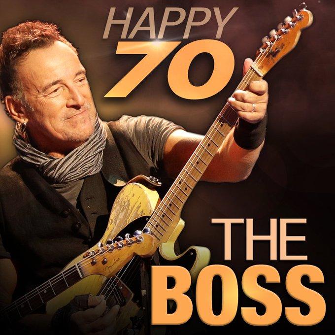 HAPPY BIRTHDAY: Bruce Springsteen turns 70 today!