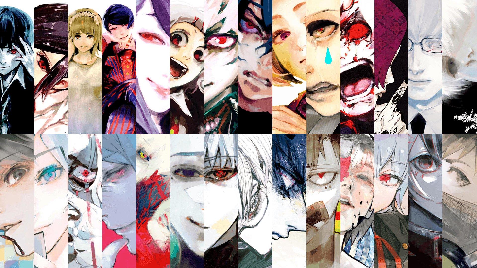 холодных персонажи токийский гуль они жизнеустойчивые